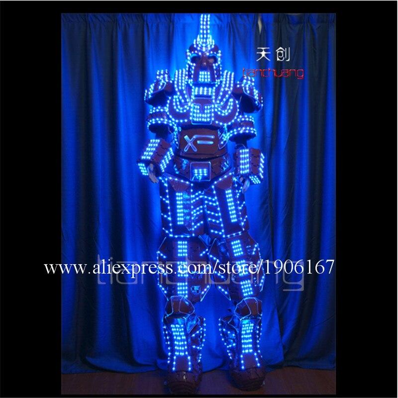 Stilt man LED Robot11