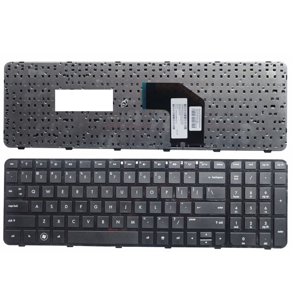 US Keyboard for HP FOR Pavilion G6 G6-2000 G6Z-2000 G6-2000 g6-2100 G6-2163sr G6Z-2000 AER36Q02310 R36 English Black WITH FRAME for hp pavilion g6 1d62nr