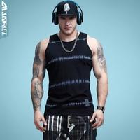 Aimpact cotton mens tank tops vintage print fitness tank top fashion pop activewear tank men summer.jpg 200x200