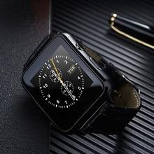 Гестия X7 Смарт часы браслет 30 Вт Камера сим-карты 1.54 дюймов Приборы для измерения артериального давления сердечного ритма сна Мониторы для Xiaomi IOS Android