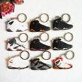 Иордания 7 Ключевая Цепь, тапки Брелок Брелок Держатель для Женщин и Девочек Подарки Porte Clef