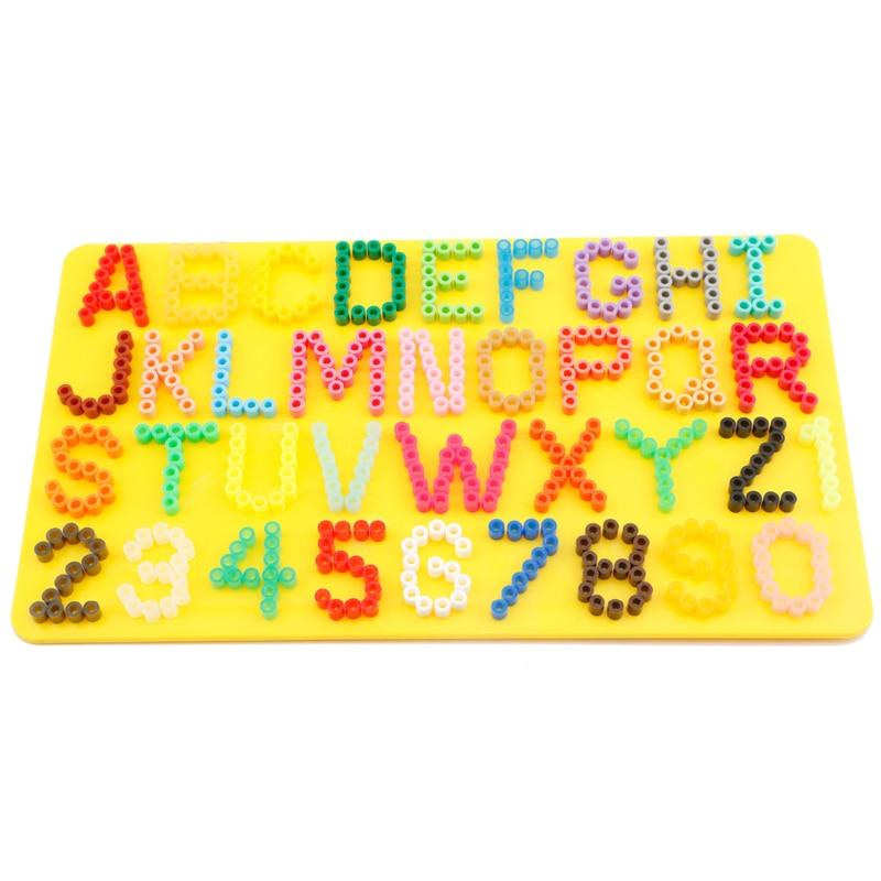 5 mm d'utilisation Alphabet et nombre panneau perforé / panneau pour - Jeux et casse-tête - Photo 2