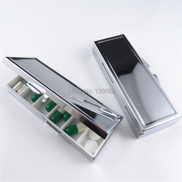 Stainless Steel Pill Bo Blank Rectangle Metal Container 6 & Stainless Steel Pill Box - Cbaarch.com Aboutintivar.Com