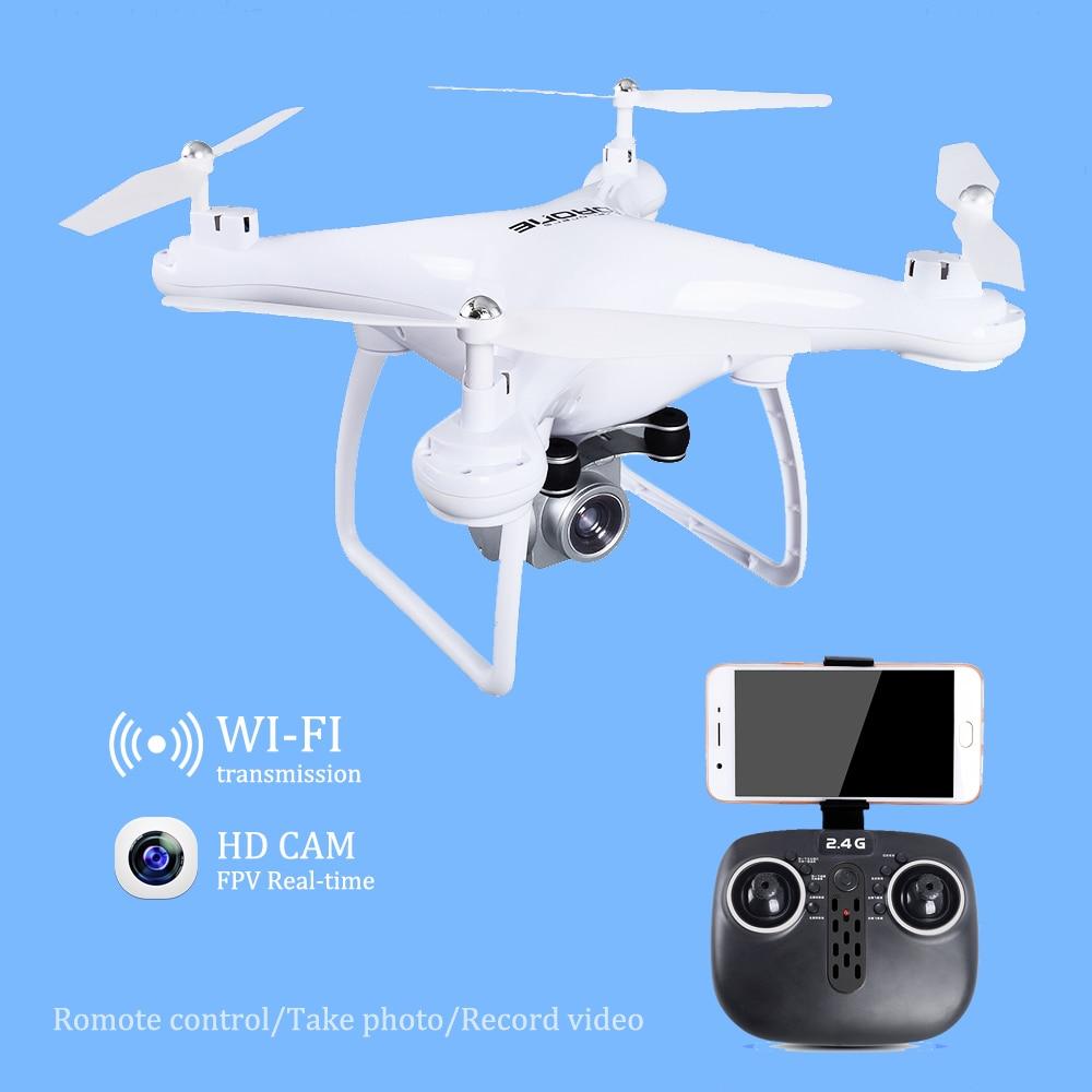 Drone avec WiFi Caméra en temps Réel Transmettre FPV Quadcopter HD Caméra Dron 2.4G 4CH RC Hélicoptère VS VISUO XS809HW JJRC H37