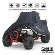New Quad Bike ATV Cover Water Resistant Dustproof Anti-UV Car ATV Kart Cover Size M 1.45m L 2m XL 2.1m 2XL 2.2m 3XL 2.56m D35 недорого
