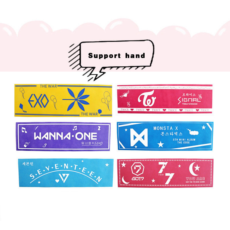 Costume Props Kpop Bts Got7 Wanna One Sticker Diy Paper Masking Scrapbook Washi Tape Decorative Adhesive Tape Costume Props 2cm*10m Hf186