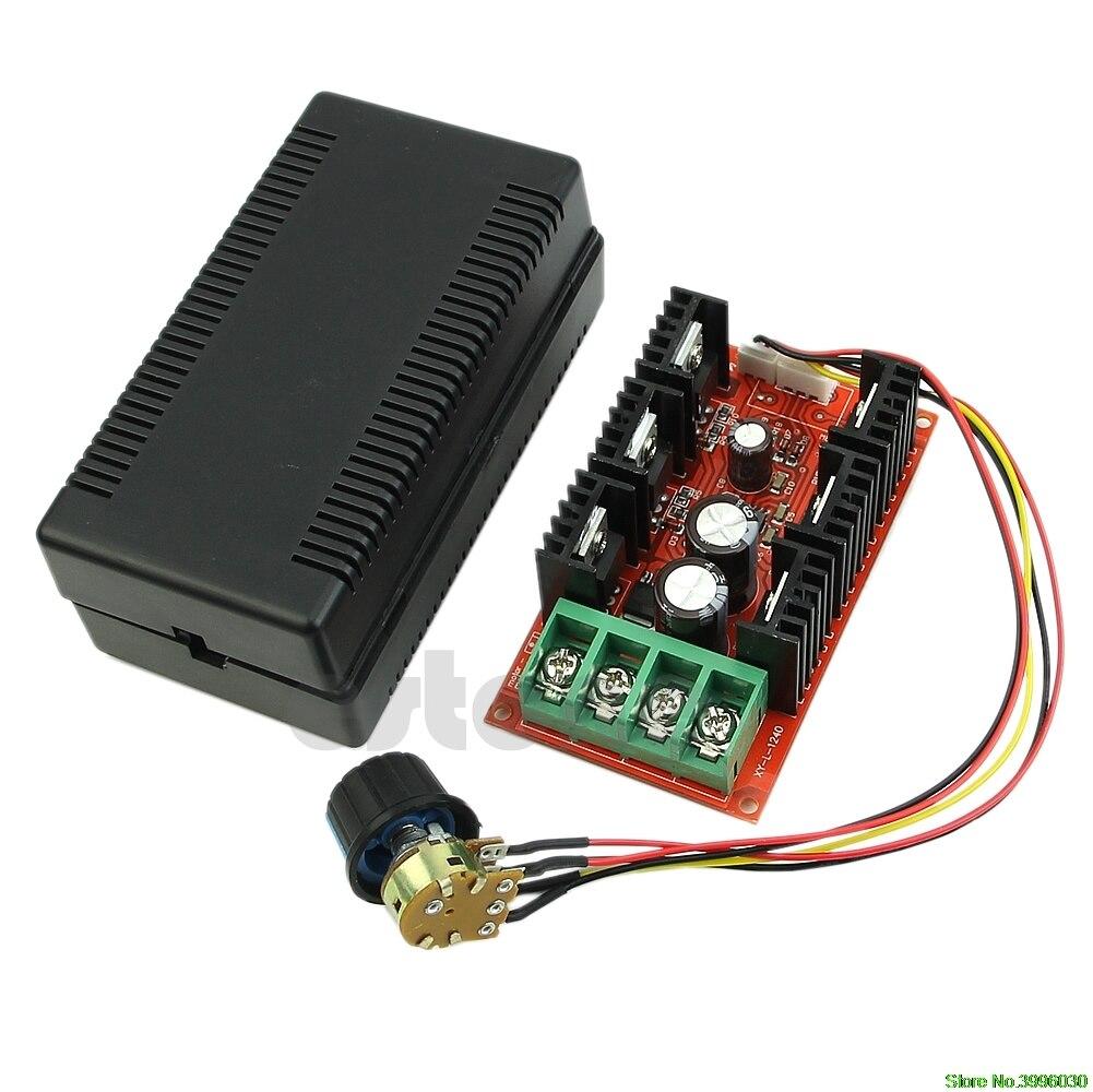 12 V 24 V 48 V 2000 W MAX 10-50 V 40A DC Controle de Velocidade Do Motor PWM HHO controlador RC
