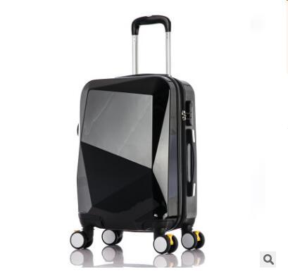 """20นิ้วรถเข็นกระเป๋าเดินทางกระเป๋าเดินทาง24 """"PCรถเข็นกระเป๋าบนล้อล้อกรณีเดินทางกระเป๋าเดินทางกลิ้งสัมภาระกระเป๋าเดินทาง-ใน กระเป๋าเดินทางแบบลาก จาก สัมภาระและกระเป๋า บน   2"""