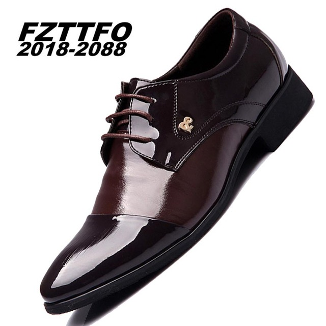 Fashion Echtes Leder Manner Oxford Schuhe Lace Up Beilaufige