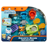 original Octonauts Kwazii's adventure resure explore set figures birthday gift bath toy child