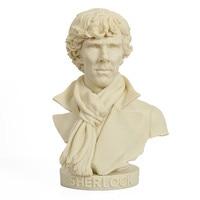 Watson Sherlock Holmes Action Souvenir Figure Bust Resin Statue Doll Resin Benedict Cumberbatch Desk Decoration R200