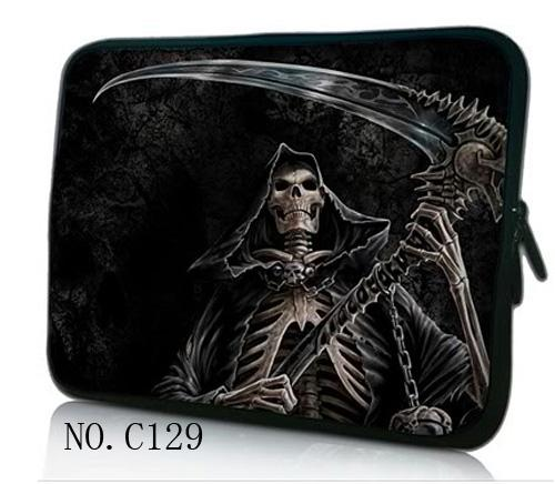 Skull 7 10 11.6 13.3 14.4 15.6 17.3 inch Totoro Laptop Bag tablet sleeve Case For Macbook Air/Pro/Retina Computer cover