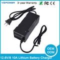 12.6 V 8A 10A Cargador de Batería de iones de Litio De 12 V Lipo Batería de Recarga
