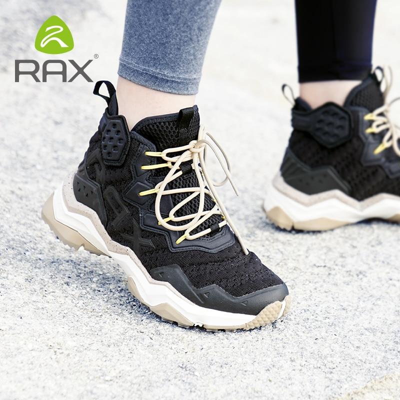 Rax Для мужчин Пеший Туризм обувь 2019 новые весенние дышащие, для активного отдыха и спорта кроссовки для Для мужчин горные ботинки рюкзак для