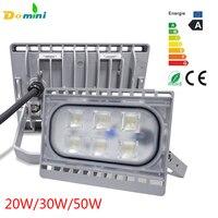 LED Outdoor Spotlight 50W 30W 20W Led Flood IP65 Waterproof Ultrathin Lamp Floodlight Landscape Reflector Outdoor