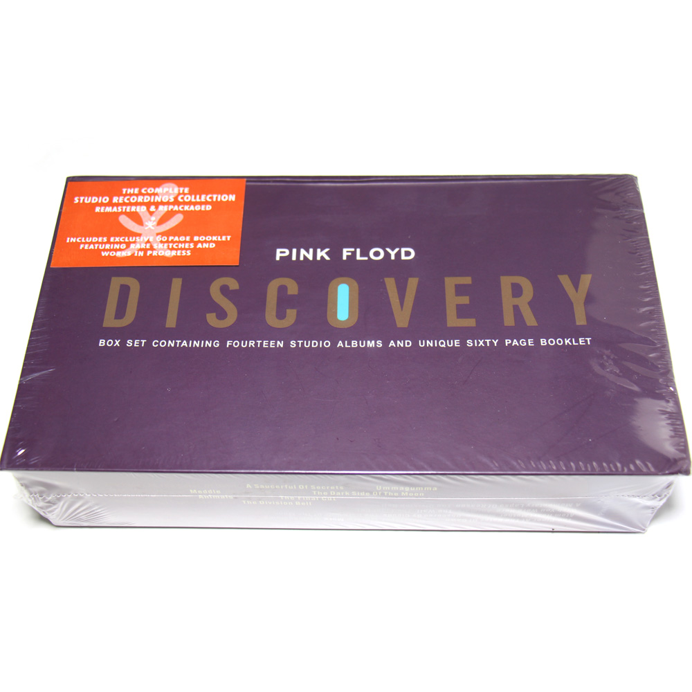PINK FLOYD DISCOVERY 16 CD + Libretto Box Set CINA FABBRICA NUOVO SIGILLATO VERSIONE TRASPORTO di GOCCIA di ORDINE