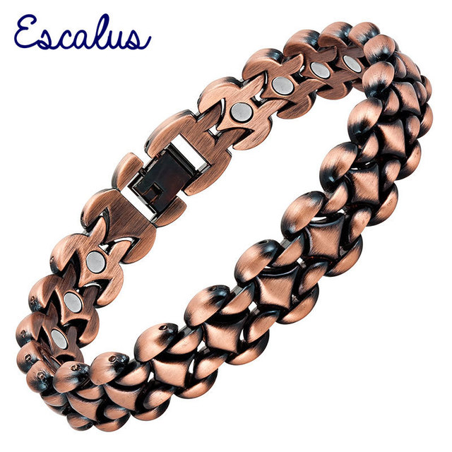 magnetic bracelet design earth ac ndfeb bangle rare super copper antique strong health magnets