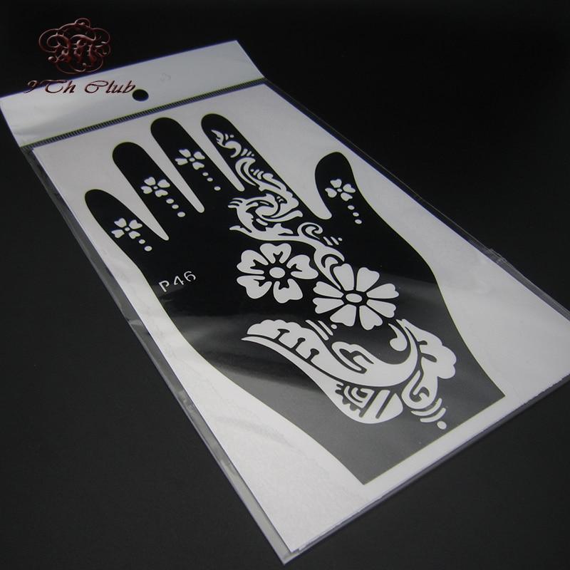 2 para šablona za šablonske tetovaže, lijeva desna velika šablona - Tetovaže i tjelesna umjetnost - Foto 5