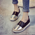 2017 New Autumn Women Flats Loafers Shoes Summer Straw Rope Round Toe Platform Fishermen Casual Shoes Lazy Single Flats ZK35