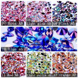 Image 5 - をミックス300個クリスタルab diy以外の修正プログラム売春アクリルネイルストーンgems 3D装飾