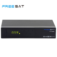 Freesat V7 Combo DVB S2 DVB T2 Satellite Receiver With PowerVu Biss Key Cccam Newcam Youtube