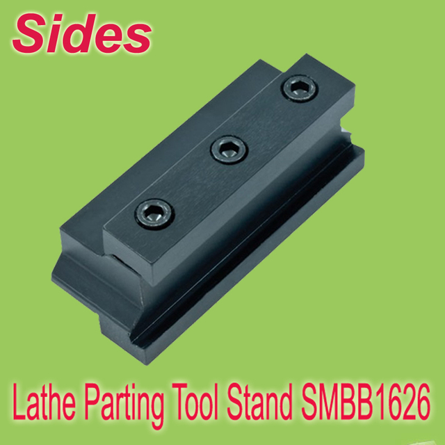 Free Shiping  SMBB 1626  Part Off  Block Indexable Parting Off Tool Stand Holder 16mm High Blade 26mm Tool Post  For Lathe