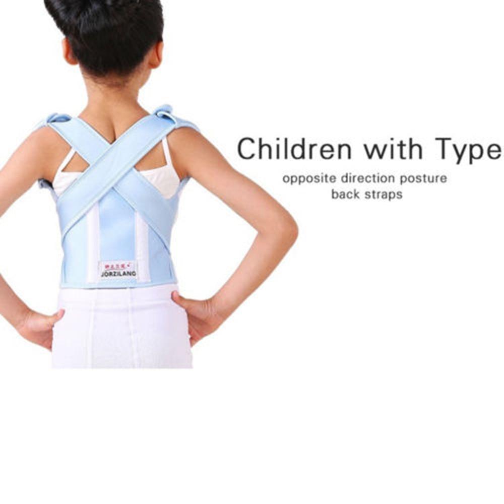 Hunchback Kids Children Posture Adjustable Back Support Corrector Belt Brace For Boys Girls Band free size o x form legs posture corrector belt braces