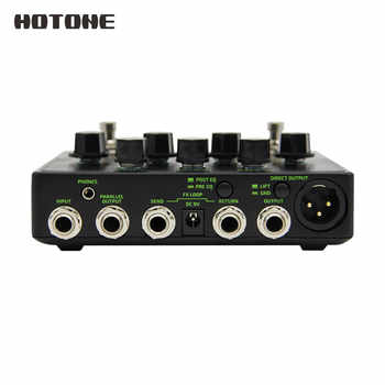 Hotone Brand New B Station Bass Preamp and D.I. Wide Tonal Range Guitar Effects Pedal BD20 Including 9V DC Adapter