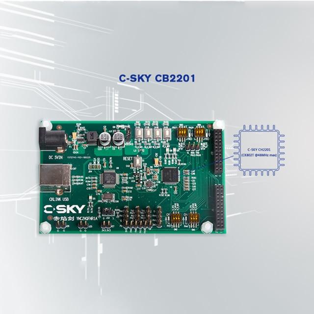 C SKY IoT Development Board AliOS Things TEE Security Internet of Things MCU CB2201 demo Board