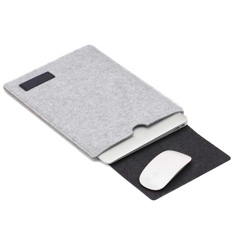 2019 mode housse pour ordinateur sacs pour Macbook Air 13 sac Pro 13 12 11 nouveau 15 Touch Bar couverture pour Xiao mi mi Notebook 15.6 Case