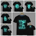 2017 New Japan anime one piece Camiseta Luffy Zoro fluorescente camisa de t dos homens one piece T-shirt Tops Roupas Masculinas Plus Size