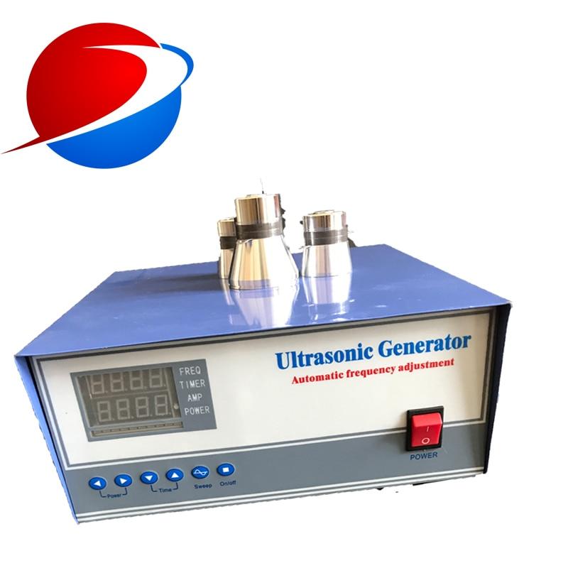 Digital Piezoelectric Generator Control Board 40khz 900W Ultrasonic Generator Cleaning Transducer Ultrasonic Signal Generator
