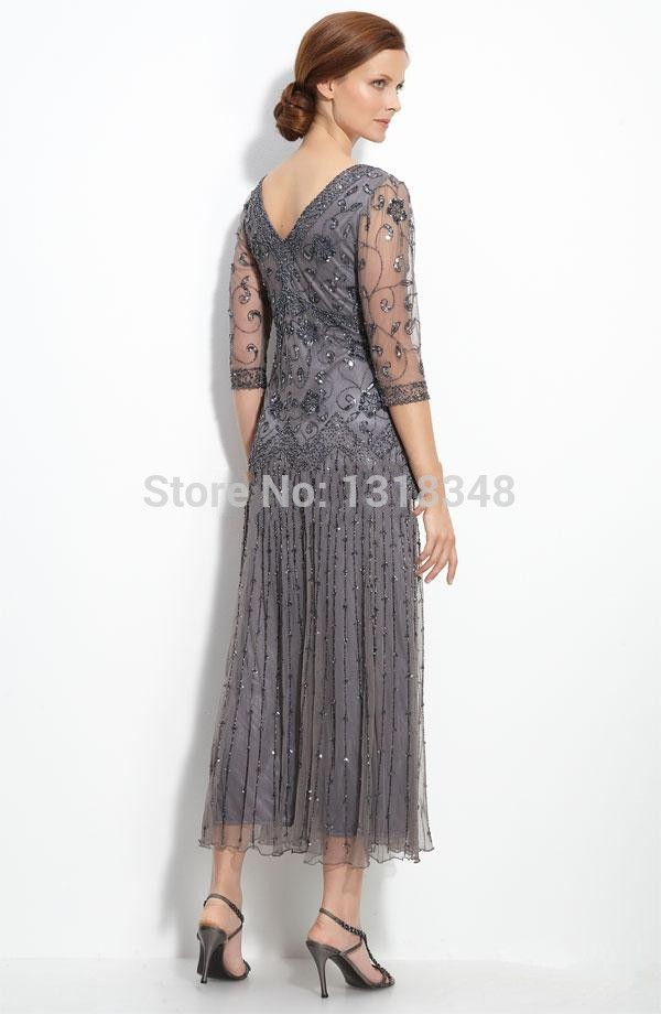 Plus Size Mother Of Groom Dresses Tea Length - Ocodea.com