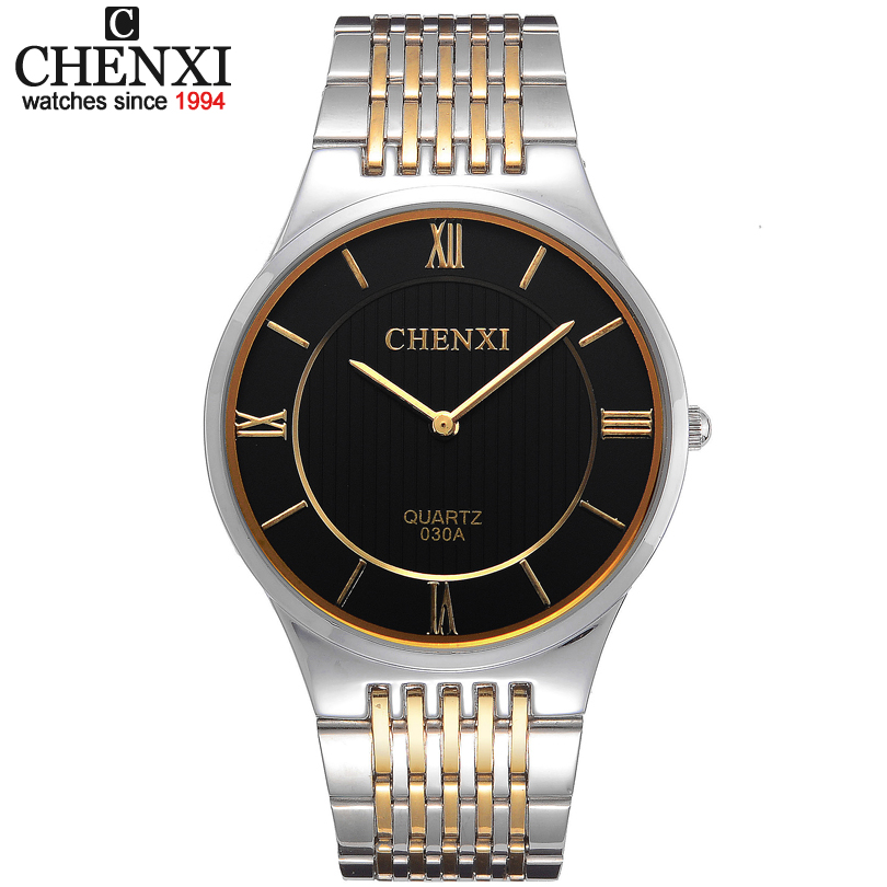 Luxury Mens Women Bracelet Watch Elegant Full Stainless Steel Sports Quartz Watches Ultra Thin Dress Men Clock Relogio Masculino