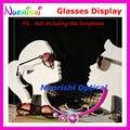 Óculos de Sol Óculos Óculos Óculos Vitrine Adereços Prateleira Da Loja Loja de Decoração Expositores Titular CK201 Frete Grátis