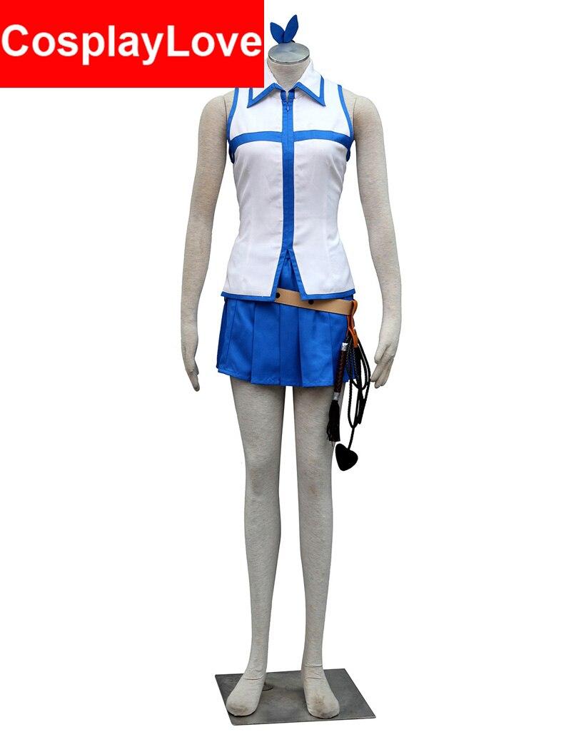 2016 Vysoce kvalitní rozprávková cosplay Lucie Heartfilia Lucy Cosplay kostým