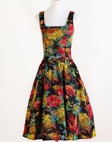 Винтажные платья Уникальный Клубная одежда 1940 S интернет-бутик хлопок лен mod одежда ретро хиппи уникальный рок-н-ролл