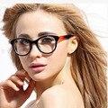 2017 Очки Моды óculos acetato марка Очки Женщины Оптический прозрачные очки Кадров TR90 ОЧКИ