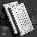 Novo logotipo original armadura de metal de alumínio parafuso telemóvel case para xiaomi mi max case metal frame + tampa traseira phone case js0225