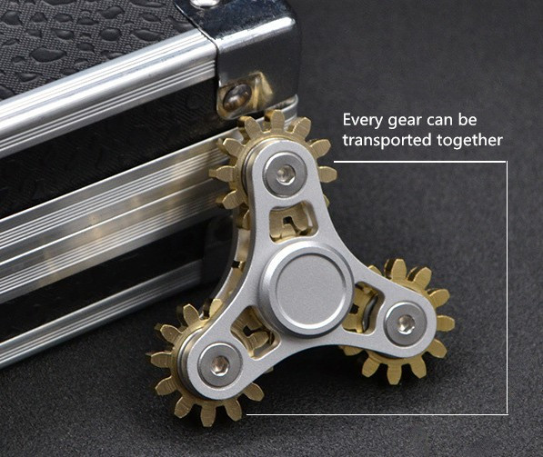 Hand Spinner Crazy Mechanical Gear Fid Finger Spinner Gyro