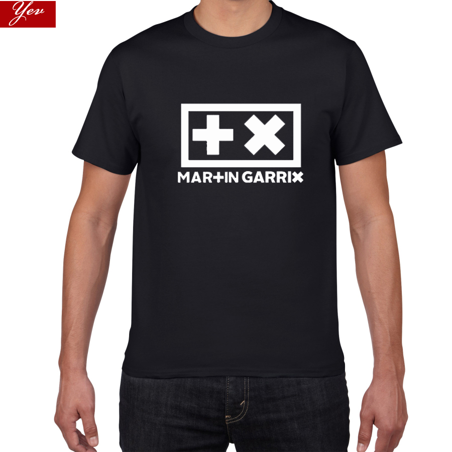 DJ Martin Garrix  T-shirt Men Top Electronic Music 100% Cotton Multicolor Tshirt Men  Hip Hop Rock Streetwear Men Clothing Homme