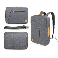 GEARMAX Water Resist Muti Use Design Laptop Backpack Briefcase Messenger Sleeve For School Work Outdoor Notebook