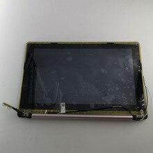 11.6 inç ASUS X202E montaj X202 S200 S200E LCD ekran dokunmatik ekran bir kapak Laptop ekran meclisi
