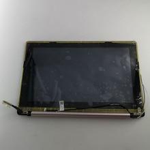 شاشة LCD 11.6 بوصة لـ ASUS X202E تجميع X202 S200 S200E مع شاشة تعمل باللمس مجموعة شاشة للكمبيوتر المحمول