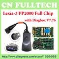 DHL Free Shipping ! Full Chip Lexia-3 Lexia3 V48 for Citr0en/P'euge-ot Diagnostic PP2000 V25 XS Evolution with Diagbox V7.76