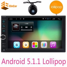 7″ double 2Din  Android 5.1 Car Tap PC Tablet 2 din Universal For universal GPS Navigation BT Radio Stereo Audio Player(No DVD)