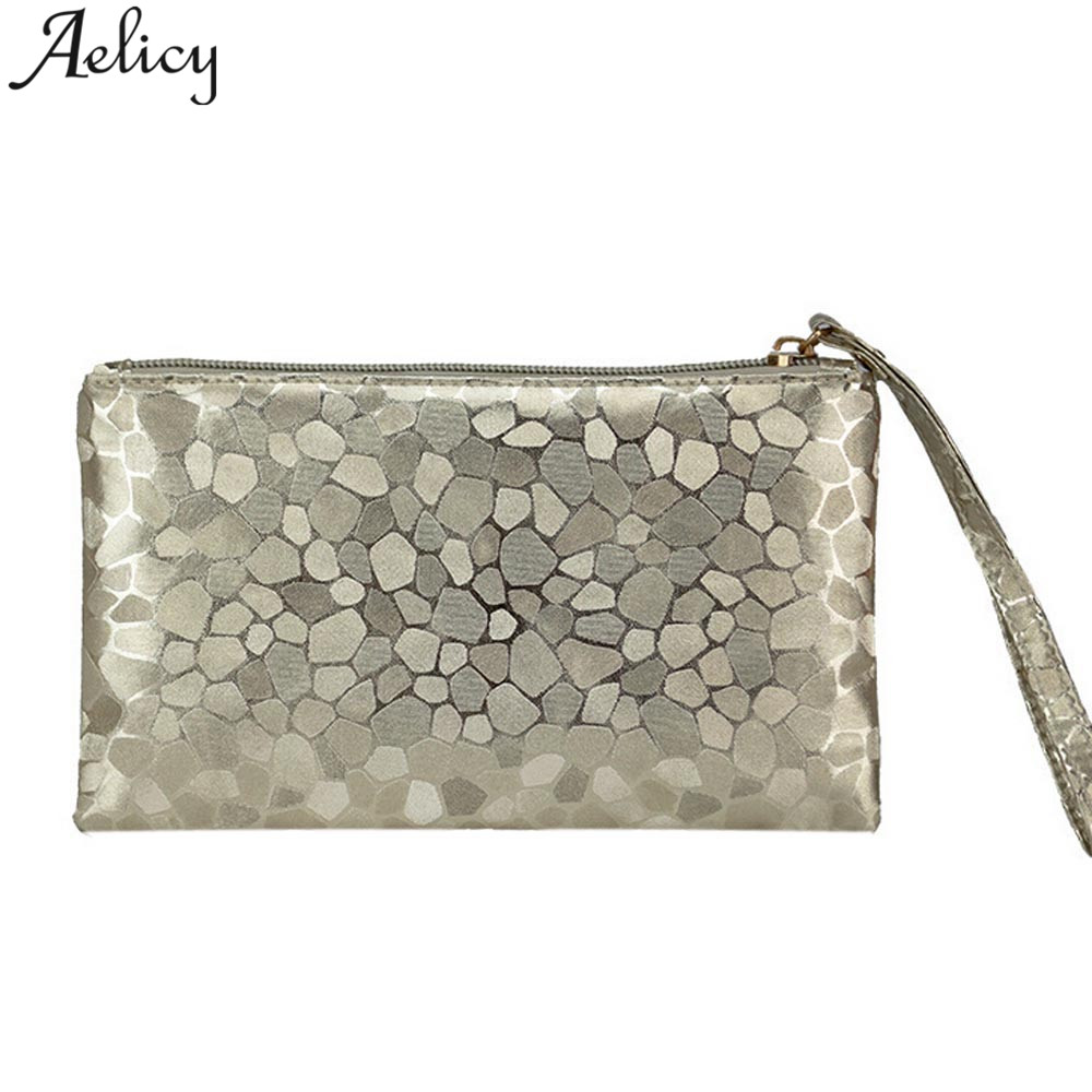 Aelicy Women Wallet Clutch Zipper Zero Phone Key Bag Dropship new 2018 hot selling Fashion Coins Change Purse carteira feminina