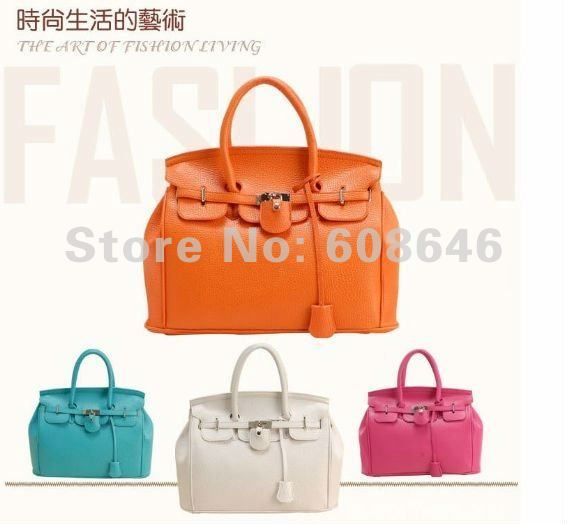 Free shipping New European/USA style, PU leather,super sart, women tote bag;50pcs/lot