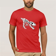 T Rex Dinosaur T-Shirt  GILDAN cotton round neck T-shirt youth trend mens short-sleeved