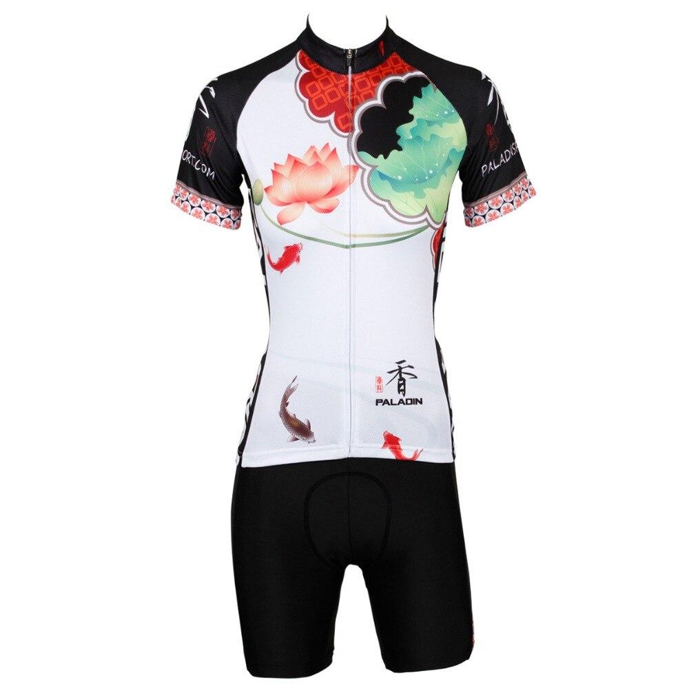 ILPALADINO Велоспорт Наборы Для женщин короткий рукав велосипед Костюмы лета MTB Ciclismo Mailot Equipe De велосипед быстросохнущая дыхание одежда